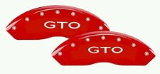 GTO Caliper High Temp Brake Decal Sticker Set Of 6 (Any Color)