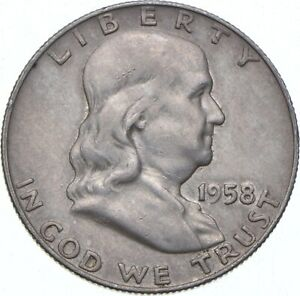 1958-D Franklin Half Dollar - TC *510