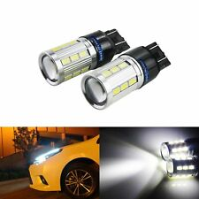 2x T20 W21W W21/5W White LED DRL Side Light Bulb Vauxhall Opel Corsa D Astra GTC
