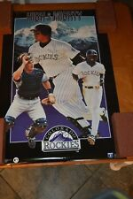 "RARE COLORADO ROCKIES ""ROCKIES HIGH AND MIGHTY BASEBALL POSTER # 4325"