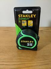 Stanley Hi-visibilty 25 Feet Tap Measure