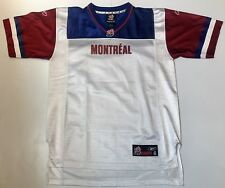 NEW Authentic Montreal Alouettes Reebok Youth Large (14/16) CFL Jersey
