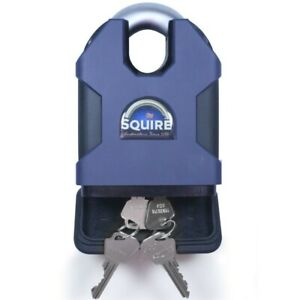 Squire Stronghold 100mm CEN 6 Padlock Closed Shackle