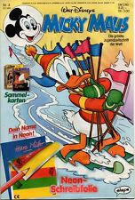 TOPOLINO LIBRETTO N. 4 | 16.1.1992 | NEON-Pellicola scrittura | Walt Disney | Nuovo | mm1