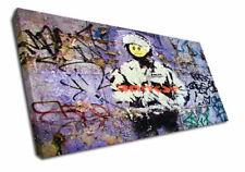 Banksy Canvas Art Prints
