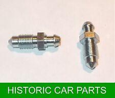 2 x viti di spurgo dei freni anteriori per MG Midget Mk2 DISCHI FRENI 1098cc 1964-66