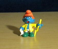 Smurfs Master Builder Smurf Handy Architect Figure Vintage Toy Figurine 20229