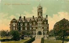 Texas, TX, Dallas, ST Paul's Sanitarium 1913 Postcard