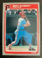 1985 Fleer Mike Schmidt #265 - Philadelphia Phillies - HOF - MINT