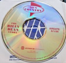 RADIO SHOW: 90'S COUNTRY 6/1/96 BILLY DEAN  STORY w/ MULTIPLE INTERVIEWS