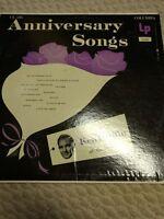 "Ken Griffin Anniversary Songs 12"" 33 RPM LP Vinyl Record"
