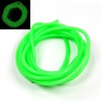 2m/bag 3mm Soft Silicone Lumo Tube Green Glowing Fishing Rubber Tubing