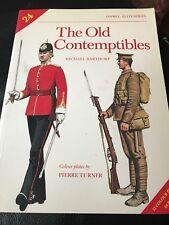 Elite: The Old Contemptibles 24  Michael Barthorp (1989, Paperback) WWI UNIFORMS