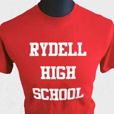 Rydell High School T Shirt Grease John Travolta Retro Vintage Fun Musical 70's