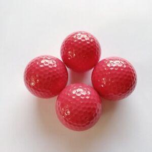 Adventure Golfbälle rot, Minigolfbälle 4 Stück
