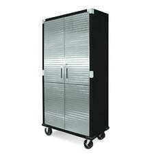 Seville HD 6ft  Upright Steel Cabinet With Wheels Heavy Duty Garage Storage