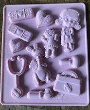 Disney Doc Mcstuffins Silicone Chocolate / Sugar Craft Mould