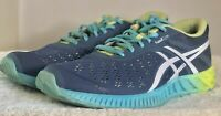 ASICS fuzex lyte  Casual Running  Shoes Blue - Womens - Size 7.5