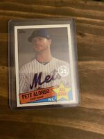 2020 Topps Series 2 Pete Alonso 85 Topps All Star 35th Insert New York Mets