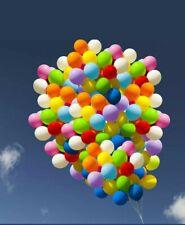 "50 X HELIUM Pearlescent Latex Balloons 10"" Wedding Birthday CHRISTENING Party"