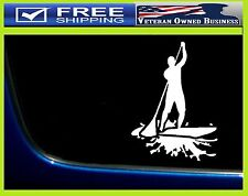 SUP STAND UP PADDLE BOARD VINYL DIE CUT DECAL STICKER Water Sports Surfing