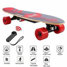 350W Elektro Skateboard E-Skateboard mit Funkfernbedienung 3-Gang E-Scooter TOP