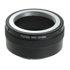 FOTGA Adapter for M42 Screw Mount Lens to Canon EOS EF-M M2 M3 M6 M50 M10 M100