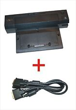 Dell E-Port plus PR02X Docking Station with Dvi-D for Precision M6400 and M6500