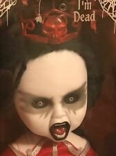 Living Dead Dolls Series 24 Agrat Bat Mahlat Sealed Coffin Crushed - See Photos
