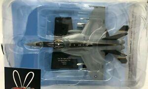 "DIE CAST ""F/A-18E SUPER HORNET US NAVY VFA-115 EAGLES 2013"" AEREO 1/100 HACHETTE"