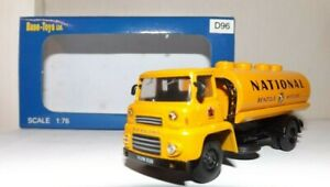 BASE TOYS D96 NATIONAL BENZOLE LEYLAND SUPER COMET TANKER TRUCK 4MM 1:76 SCALE
