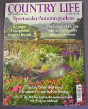 September Country Life Nature, Outdoor & Geography Magazines in English