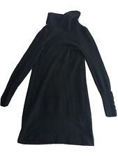 repeat cashmere Dress Size Small Black 100% Cashmere