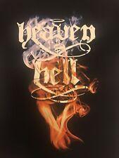 HEAVEN AND HELL DIO BLACK SABBATH TOUR SHIRT S