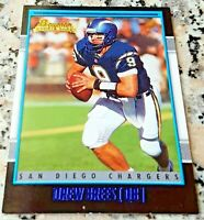DREW BREES 2001 BOWMAN Rookie Card RC Superbowl MVP New Orleans Saints HOT $$$