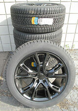 "20"" NEW JEEP GRAND CHEROKEE SRT8 STYLE GLOSS BLACK RIMS 9113 WINTER SNOW TIRES"