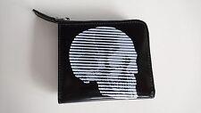 ALEXANDER MCQUEEN Wallet - BNWT SKULL LEATHER CARDHOLDER HALF-ZIP RRP:£270.00