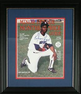1989 Ken Griffey Jr. #24 Pre Rookie Signed Minor League Magazine JSA COA