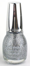 SILVER GLITTER NAIL VARNISH POLISH BY LAVAL FINE TINY PARTICLES 15ML NEW