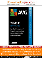 AVG PC TuneUp 2020 - 1 PC - 1 Year [Download]