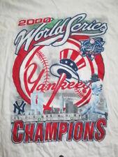 2000 NEW YORK YANKEES WORLD SERIES Champions (LG) T-Shirt DEREK JETER