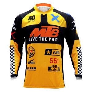 2021 Motocross Jersey MTB Downhill FXR Cycling Mountain Bike Long Sleeve