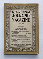 National Geographic Magazine - June 1926 - Canada's Peak, Bavarian Alps, Africa