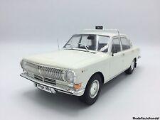 Volga m24 1972 taxi-Weiss - 1:18 mcg