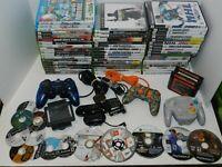 Huge Video Game Lot Sony Nintendo Wii U PS2 PS3 Sega Mario Call of Duty + MORE