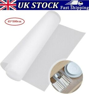 45*500cm Drawer Mat Non-Slip Kitchen Cabinet Liner Cupboard Shelf Protector Pad