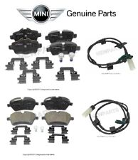 For Mini Cooper R55 R56 R57 S Clubman Front & Rear Brake Pads w/ Sensors Genuine