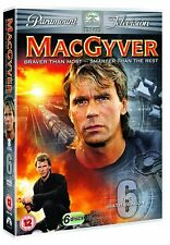 5014437948632 MacGyver (Original Series) Series 6 The Comp Season 6 DVD Box Set