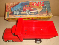 TIN TOY FRICTION DUMP TRUCK YONE MADE IN JAPAN ANNI '60