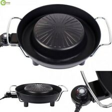 "14"" Electric Barbecue Pan Plate cook Fry BBQ Oven Hot Pot Stone Shabu Kitcchen"